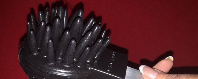 Aluminium/siliconen paddle en ballbuster basher