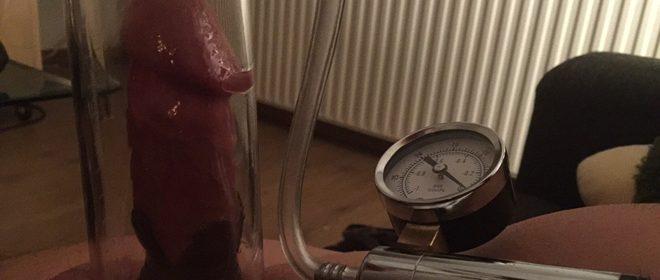vacuümpomp of penis pomp
