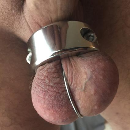 Metalen Cock & Ball Lock-Medium