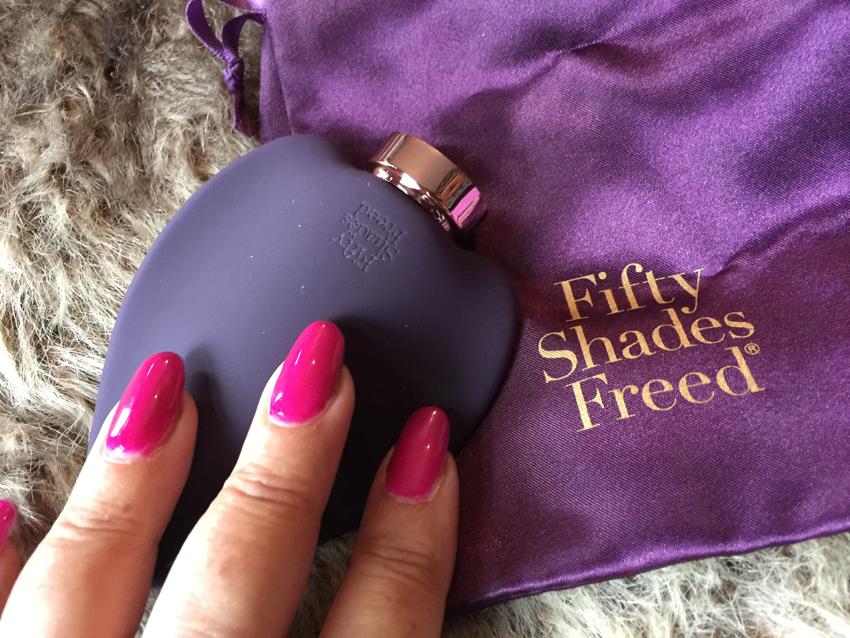 Productbespreking - Fifty Shades Freed Opleg vibrator